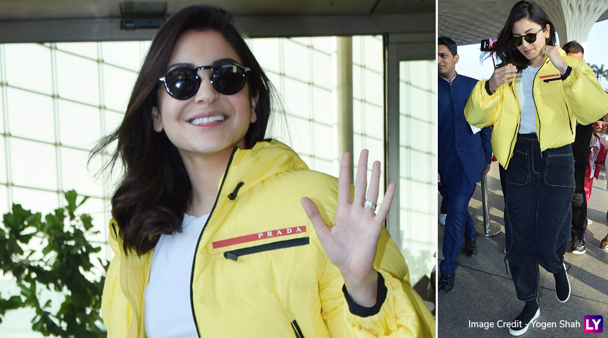 Anushka Sharma Sports a Prada Jacket, the Price Will Have You Picking Up Your Dropped Jaws!