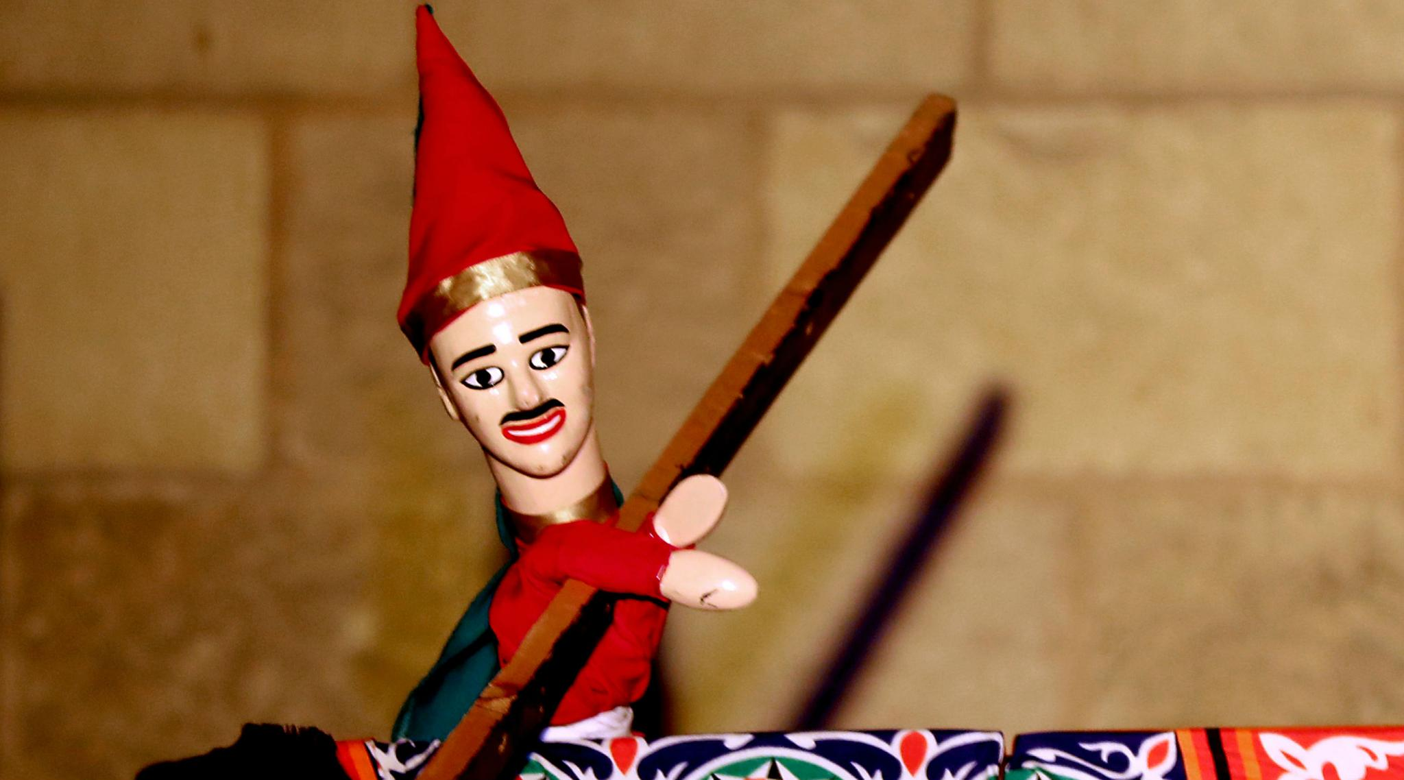 Folk Puppet of Aragoz Helps to Keep Egyptian Satire Alive