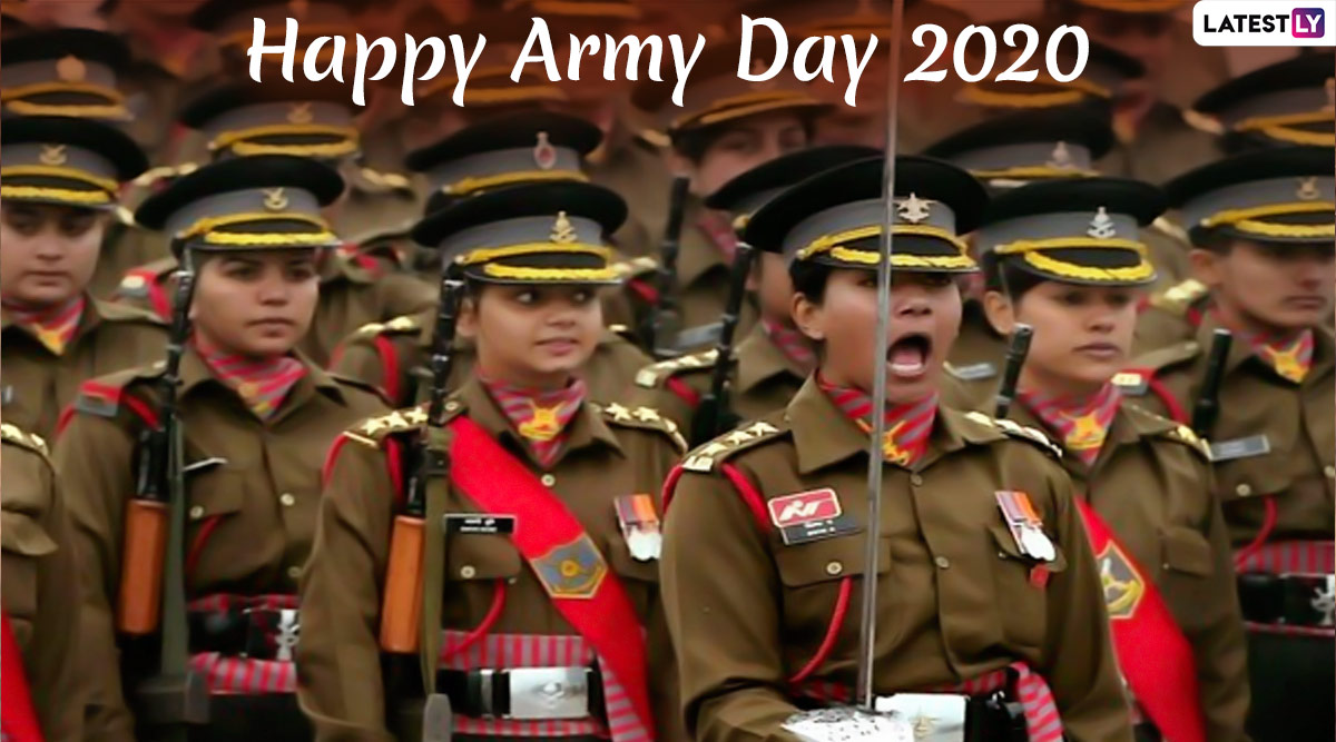 Army Day 2020 Images, & HD Wallpapers for Free Download Online: Celebrate Indian Army Day With WhatsApp Stickers, Quotes, Messages and Greetings on January 15