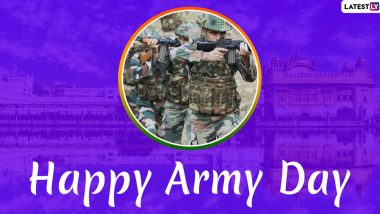 Army Day 2020 Wishes: President Ram Nath Kovind, PM Narendra Modi, Rajnath Singh, Rahul Gandhi & Other Leaders Greet Soldiers & Their Families