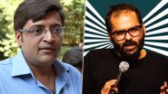 Kunal Kamra Barred by Air India After His Video Heckling Arnab Goswami Onboard IndiGo Flight Went Viral