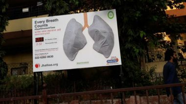 Mumbai Air Quality: Artificial Lungs Installed in Bandra Start Turning Black Within A Week As Pollution Levels Rise
