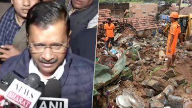 Delhi Building Collapse: Arvind Kejriwal Seeks EC's Permission to Release Rs 10 Lakh Compensation Each to Victims' Kin of Bhajanpura