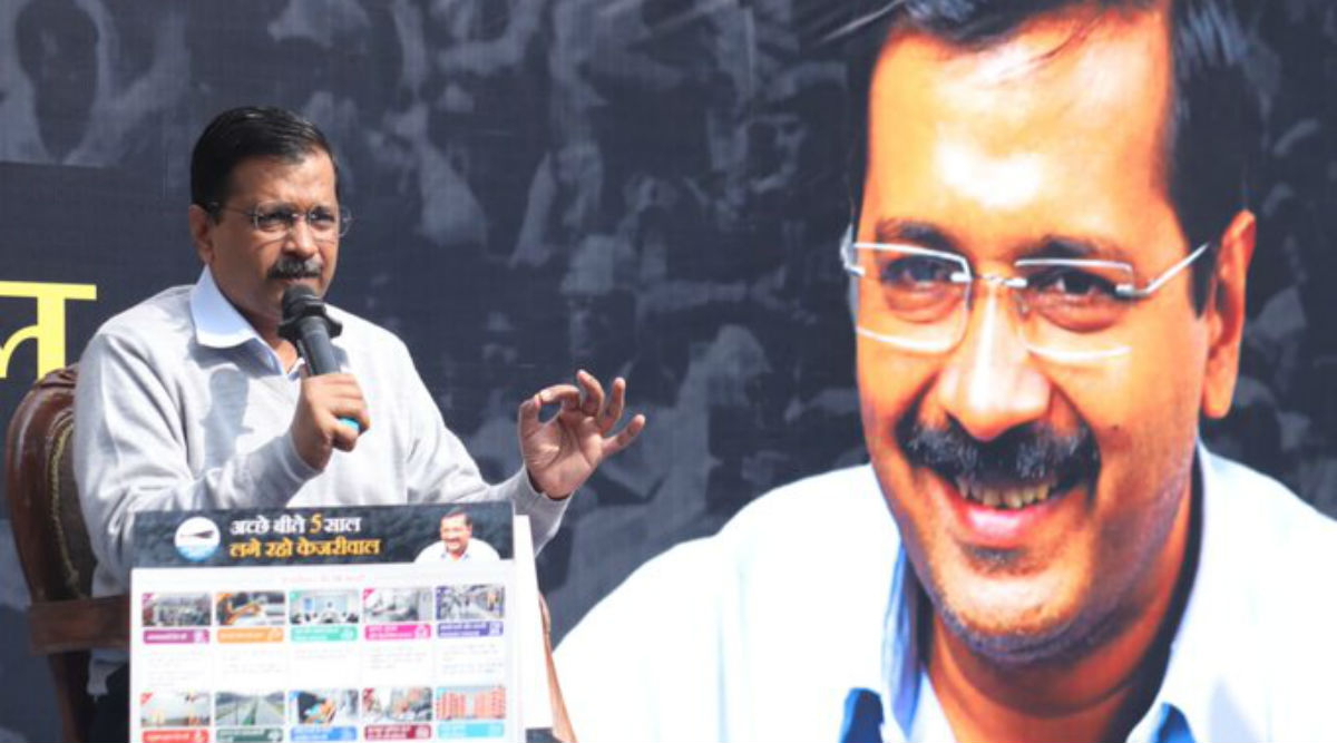 Delhi Assembly Elections 2020: 24-Hour Drinking Water And Electricity, Free Bus Rides For Students Among Arvind Kejriwal's 'Guarantee Card'