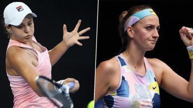 Ashleigh Barty vs Petra Kvitova, Australian Open 2020 Free Live Streaming Online: How to Watch Live Telecast of Women's Singles Quarter-Final Tennis Match?
