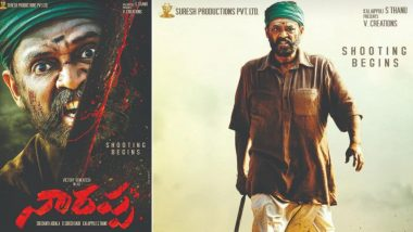 Narappa First Look: Venkatesh Daggubati Looks Fierce in The Telugu Remake of Asuran (View Pics)