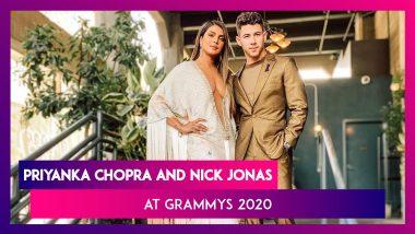Grammys 2020: Priyanka Chopra's Sexy Plunging Neckline And Nick Jonas' Metallic Suit Are A Winner