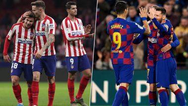 Fc Barcelona Vs Atletico Madrid Head To Head Record Ahead Of Supercopa De Espana 2019 20 Clash Here Are Match Results Of Last 5 Encounters Latestly