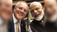 Independence Day 2020 Celebrations: Australian PM Scott Morrison Extends Greetings to PM Narendra Modi And Indians, Tweets 'India-Australia Relations Stands on Trust And Mutual Respect'
