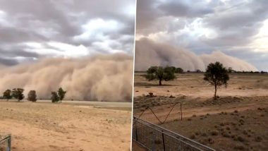 Massive Dust Storm Hits Central New South Wales in Australia, Photos And Videos Go Viral