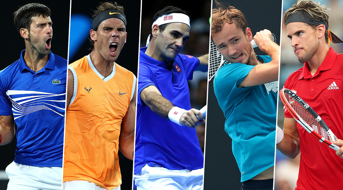 Australian Open 2020 Men's Singles: Djokovic, Nadal, Federer, Daniil Medvedev & Dominic Thiem, 5 Players to Watch Out For in Tennis' First Grand Slam of The Year