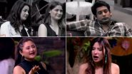Bigg Boss 13 Day 115 LIVE Updates: Sidharth Shukla-Shehnaaz Gill Get Safe From Nominations and Rashami Desai Tags Mahira Sharma As 'Zabardasti Ka Fanda', Tune in!
