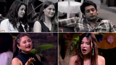 Bigg Boss 13 Day 115 Highlights: Sidharth Shukla-Shehnaaz Gill Get Safe From Nominations and Rashami Desai Tags Mahira Sharma As 'Zabardasti Ka Fanda', Tune in!