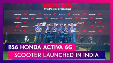 Honda Activa BS6 Scooter Officially Launched; India Prices, Features & Specs