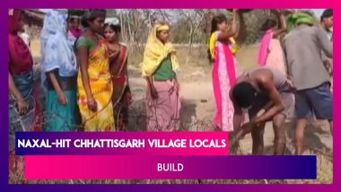 Locals Of Naxal-Hit Chhattisgarh Village Build Road For Themselves