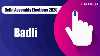 Badli Vidhan Sabha Seat in Delhi Assembly Elections 2020: Candidates, MLA, Schedule And Result