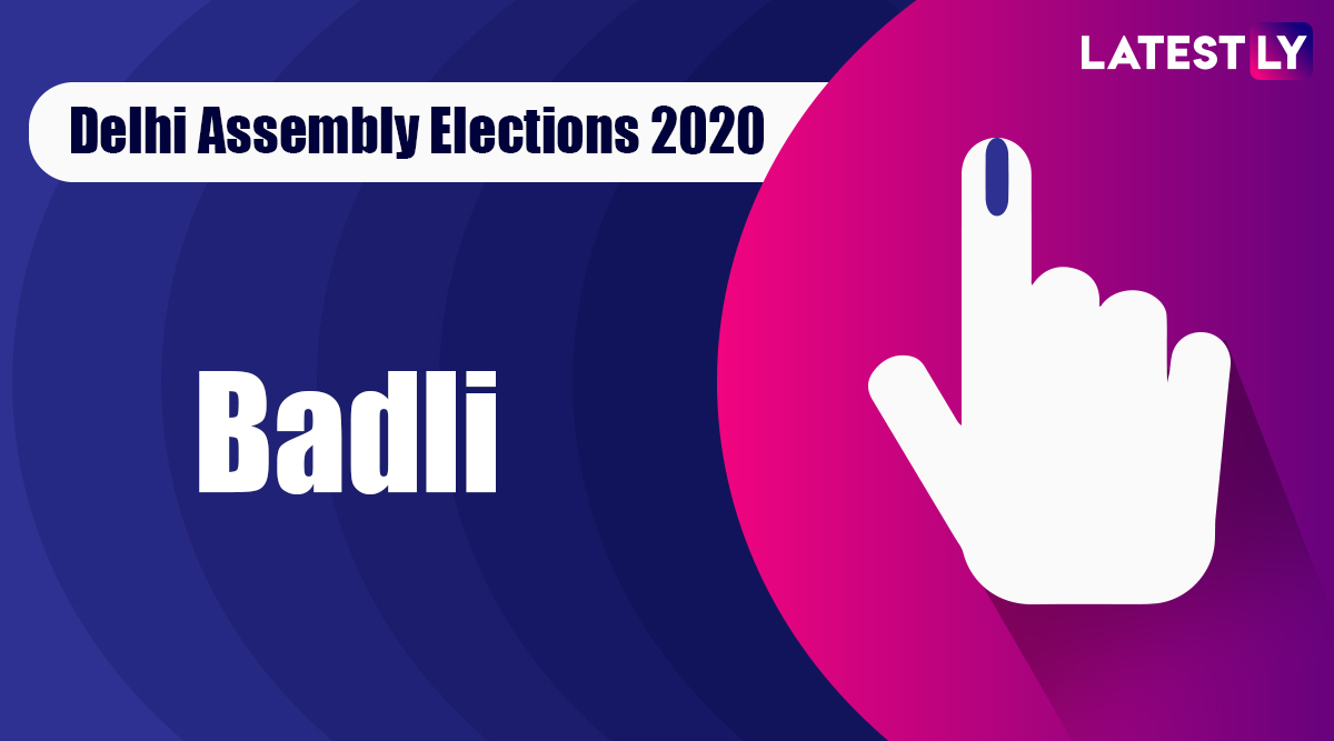 Badli Election Result 2020: AAP Candidate Ajesh Yadav Declared Winner From Vidhan Sabha Seat in Delhi Assembly Polls