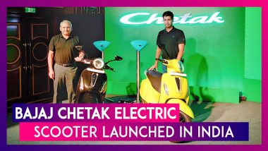 Bajaj Chetak Electric Scooter Launched; Price In India, Features, Bookings & Specs