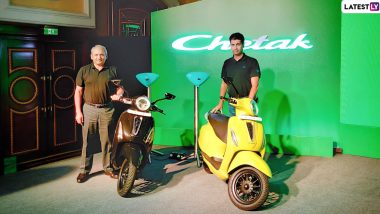 Bajaj Chetak Electric Scooter Launched in India; Check Prices, Features, Bookings, Delivery Details & Specifications