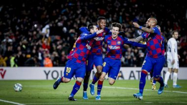 La Liga 2019-20 Result: Late Lionel Messi Goal Gives Barcelona 1-0 Win Over Granada In Quique Setien's First Match Incharge