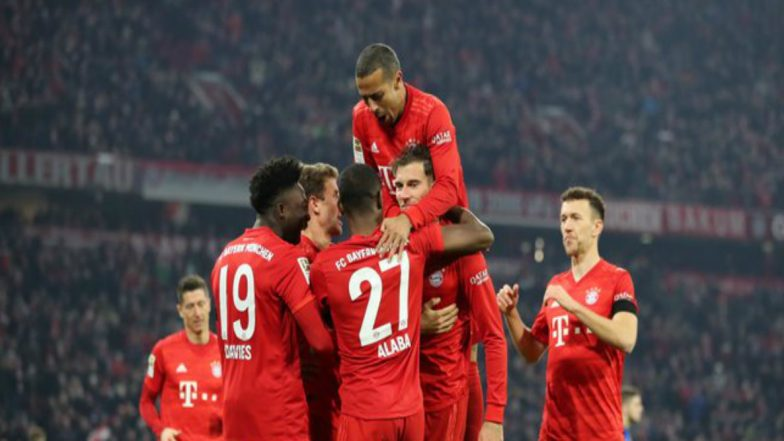 Bundesliga 2019–20 Result: Bayern Munich Thrash Schalke 5–0, Cut RB Leipzig's Lead at Top to One Point
