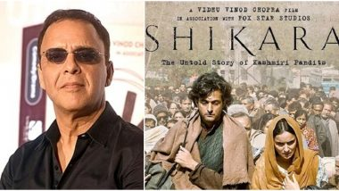 Shikara Row: Vidhu Vinod Chopra Pens Open Letter to Young Indians, Says 'Violence Will Only Beget Violence'