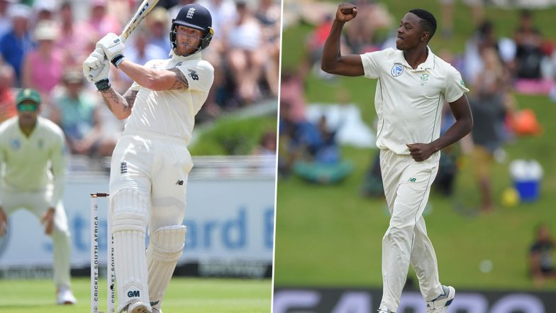 South Africa vs England 3rd Test 2019-20: Ben Stokes vs Kagiso Rabada and Other Exciting Mini Battles to Watch Out for in Port Elizabeth