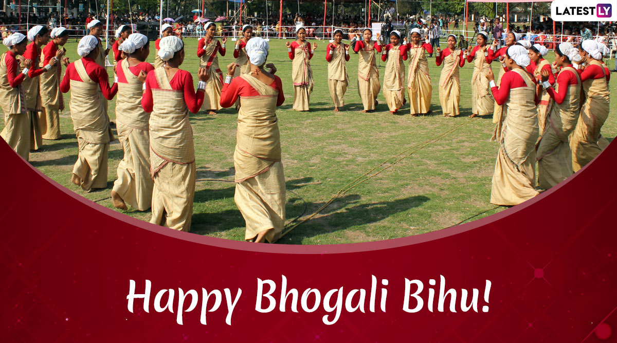 Magh Bihu 2020 Messages and Bhogali Bihu Greetings: WhatsApp Stickers, GIF Images, Quotes And SMS to Wish on Assam's Harvest Festival