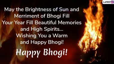 Bhogi 2020 Wishes: WhatsApp Stickers, Facebook Greetings, GIF Image Messages, SMS and Quotes to Send on the Harvest Festival