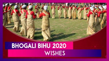 Bhogali Bihu 2020 Wishes: WhatsApp Messages and Magh Bihu Images to Send on Assam's Harvest Festival