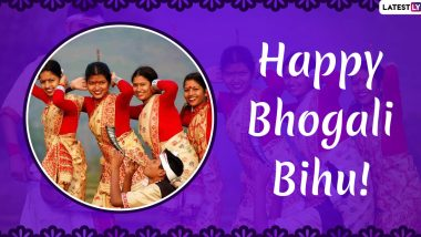 Happy Magh Bihu 2020 Greetings: WhatsApp Stickers, SMS, Images and Quotes to Send on Bhogali Bihu
