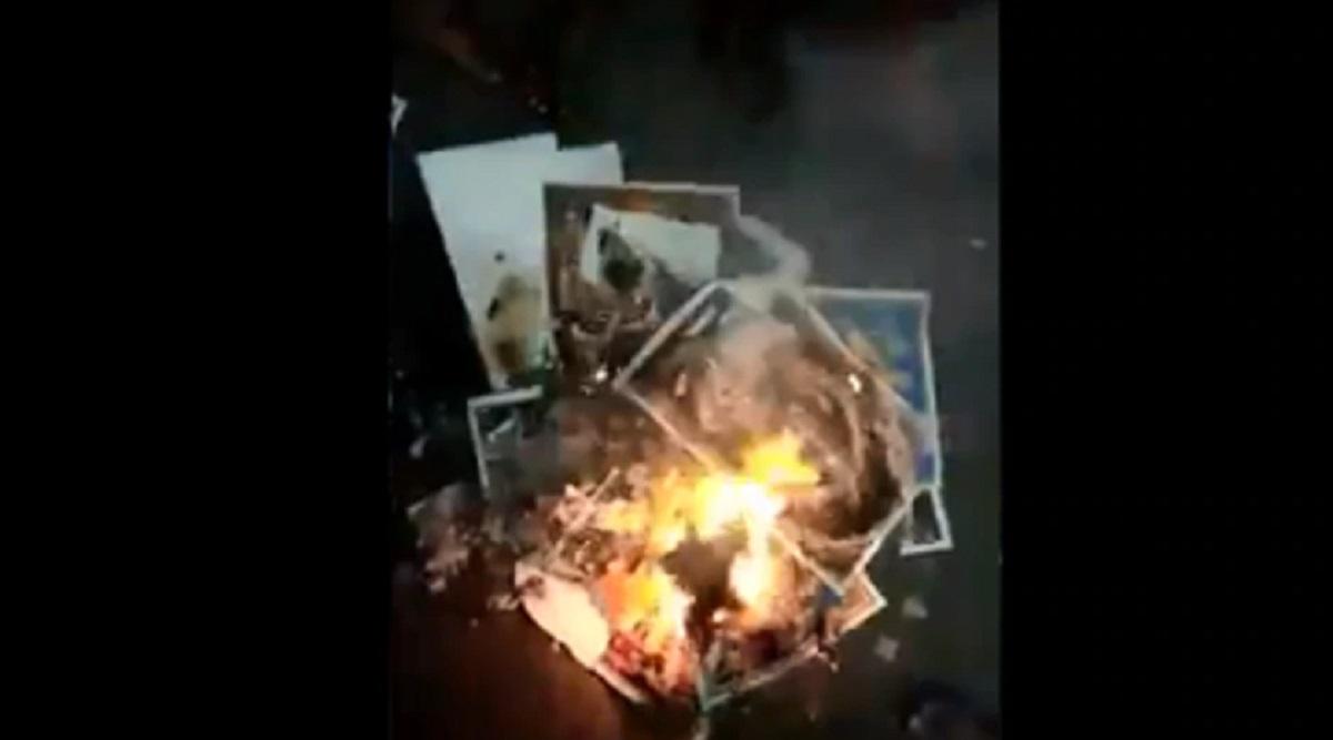 Did Anti-CAA Protesters Burn Pics of Hindu Gods? Fact Check Shows That BJP's Sambit Patra Fell For Fake News