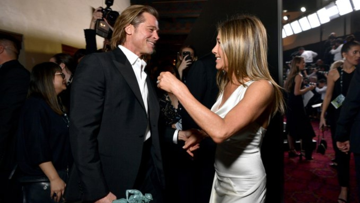 SAG Awards 2020: Brad Pitt and Jennifer Aniston Give Netizens their 'Moment of the Year' With THIS Reunion Picture!