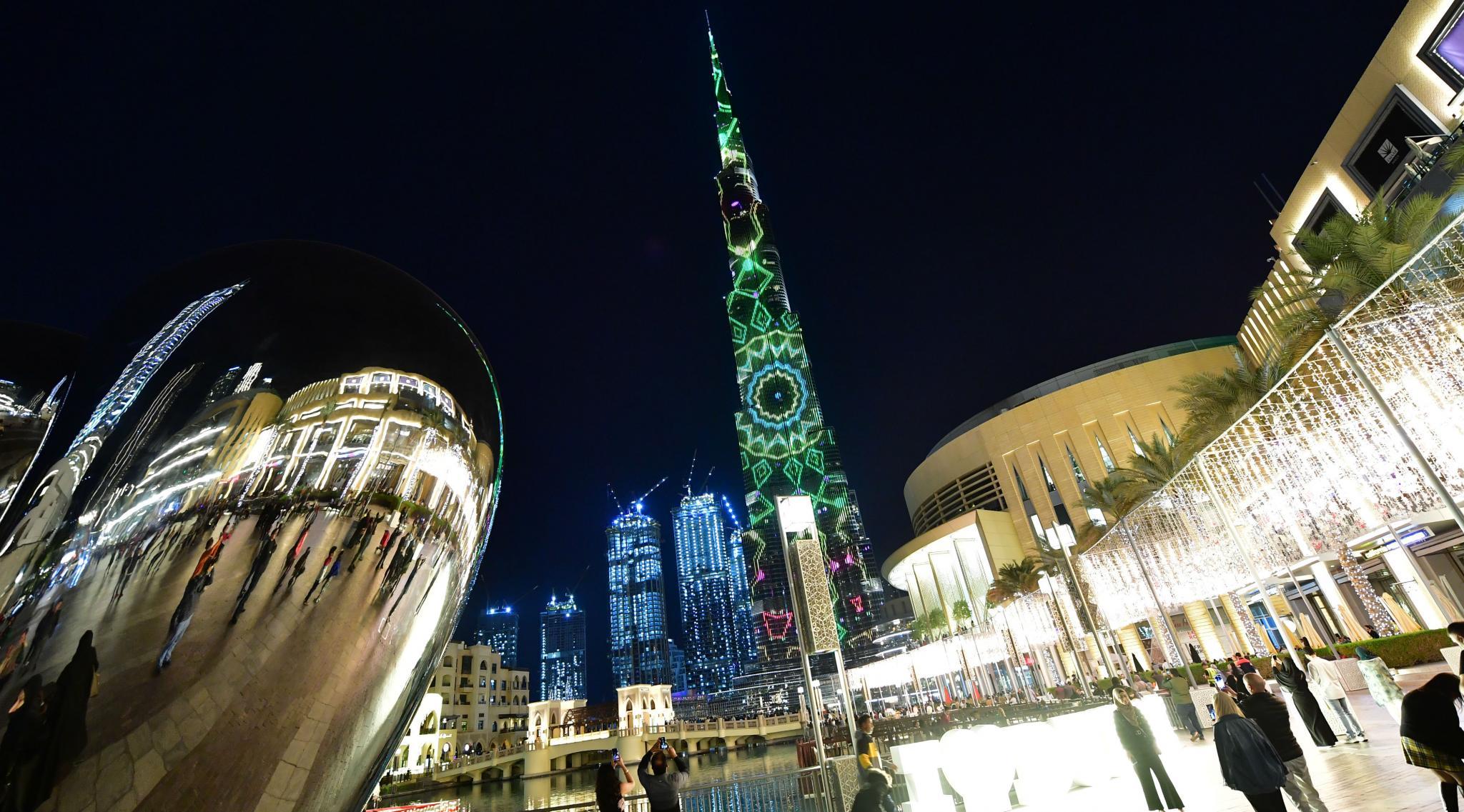 Burj Khalifa, World's Tallest Tower, Lights Up in Solidarity With Australia Bushfires