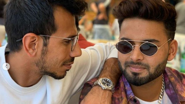 Teammates Yuzvendra Chahal and Rishabh Pant Chill Out Ahead of India vs New Zealand 2nd T20I in Auckland