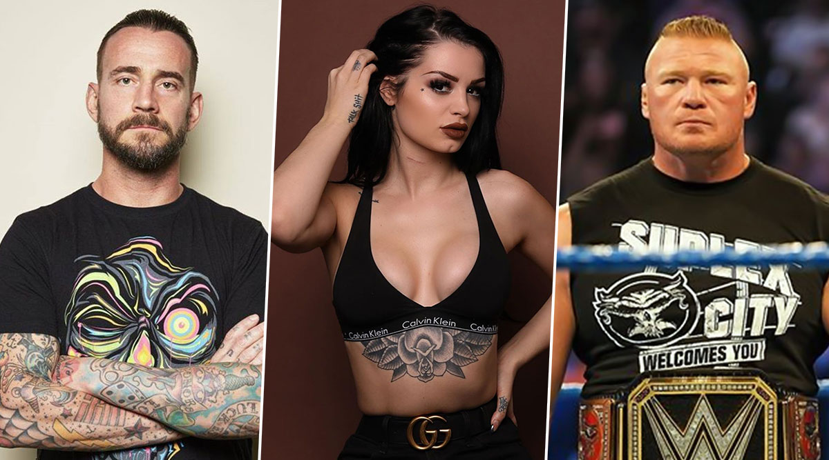 Twitterati Reacts to CM Punk's Response on Paige's Tweet, WWE Diva Wishes to 'Eliminate' Brock Lesnar at WWE Royal Rumble 2020