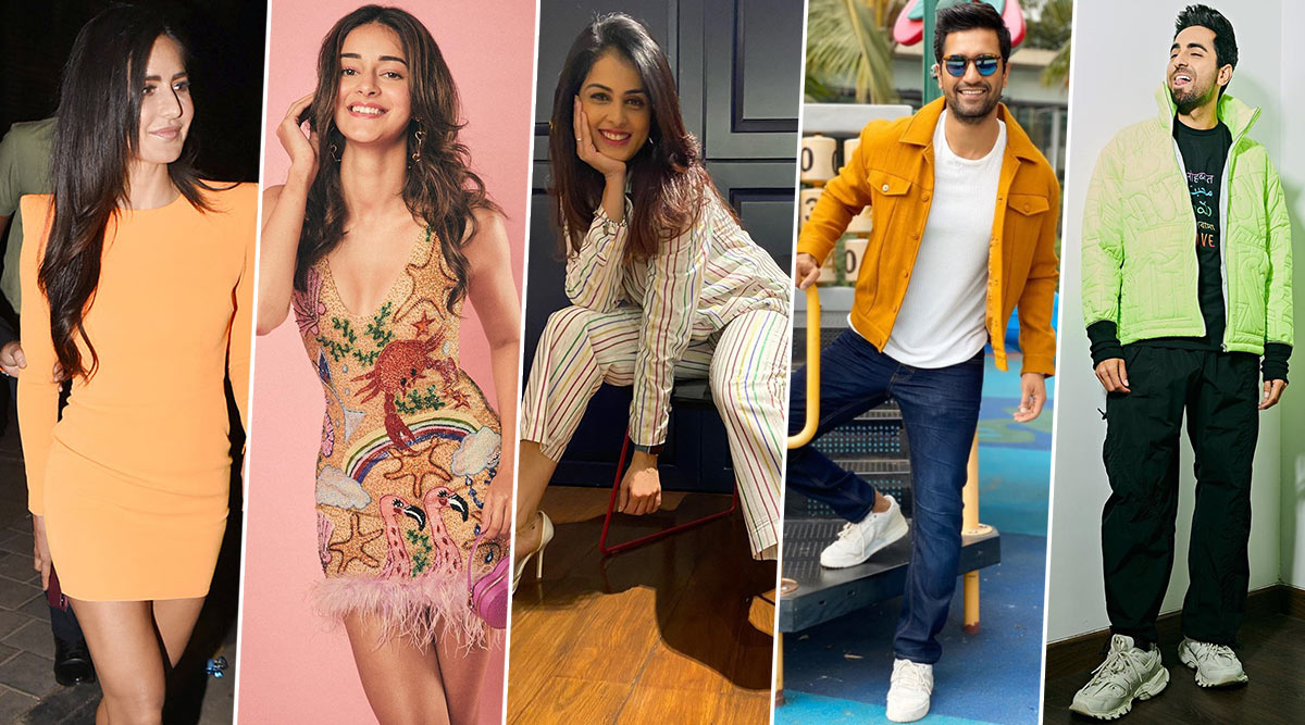 What the Fashion! Katrina Kaif, Ananya Panday Drop Some Stunning, Pricey Styles but Ayushman Khurrana, Vicky Kaushal and Genelia Deshmukh Go Thrifty!