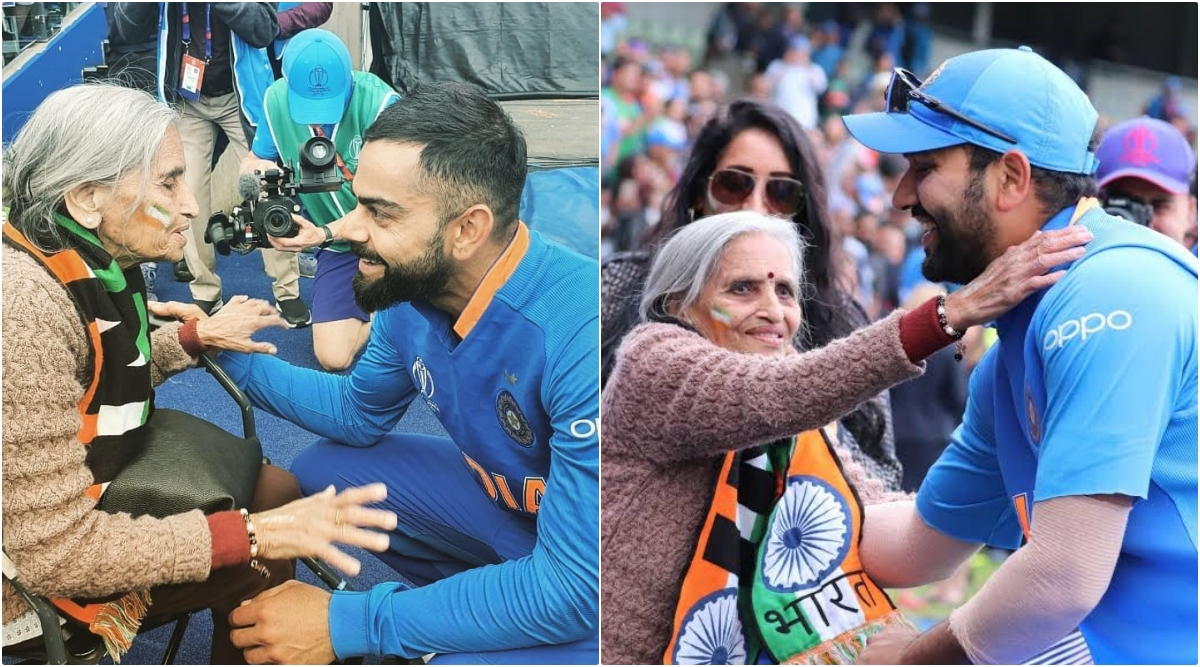 Charulata Patel, Team India's Superfan Dies: BCCI Pays Tribute To 87-Year-Old Who Went Viral With Her CWC 2019 Appearance