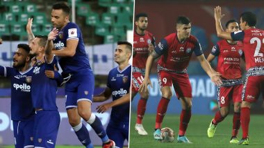 Chennaiyin FC vs Jamshedpur FC, ISL 2019–20 Live Streaming on Hotstar: Check Live Football Score, Watch Free Telecast of CFC vs JFC in Indian Super League 6 on TV and Online