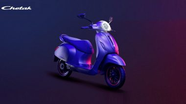 LIVE Updates: Bajaj Chetak Launched in India at Rs 1 Lakh; India Prices, Bookings, Features & Specifications of Electric Scooter