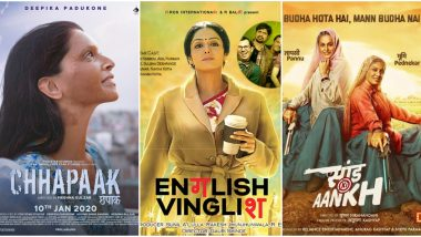 National Girl Child Day 2020 in India: From Chhapaak to Saand Ki Aankh, Bollywood Films That Spoke Strongly of Women Empowerment