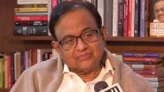 P Chidambaram, Son Karti Chargesheeted by ED in Connection With INX Media Case