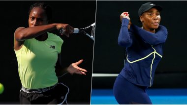 Coco Gauff vs Venus Williams, Australian Open 2020 Live Streaming Online: How to Watch Live Telecast of Aus Open Women's Singles First Round Tennis Match?