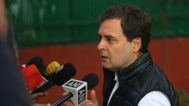 Davinder Singh Case: Rahul Gandhi Takes Dig at PM Narendra Modi, NIA Chief, Suspects Cover-Up