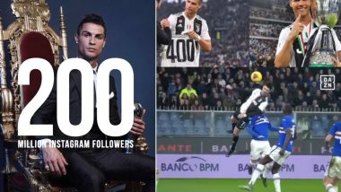 Image result for images of Cristiano Ronaldo Hits 200 Million Followers On Instagram