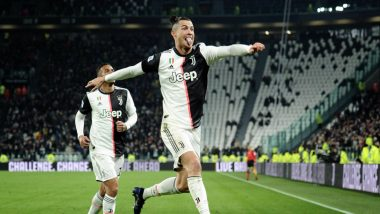 Juventus Relives Cristiano Ronaldo & Other Goals Netted Against Napoli During the First Leg of Serie A 2019-20 Game (Watch Video)