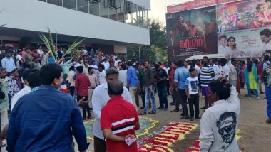 Fans Celebrate, Queue Outside Theatres in Chennai Ahead of Rajinikanth's 'Darbar' Release