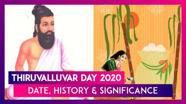 Thiruvalluvar Day 2020 Date: History Of The Day Celebrated In Honour Of The Author Of Thirukkural