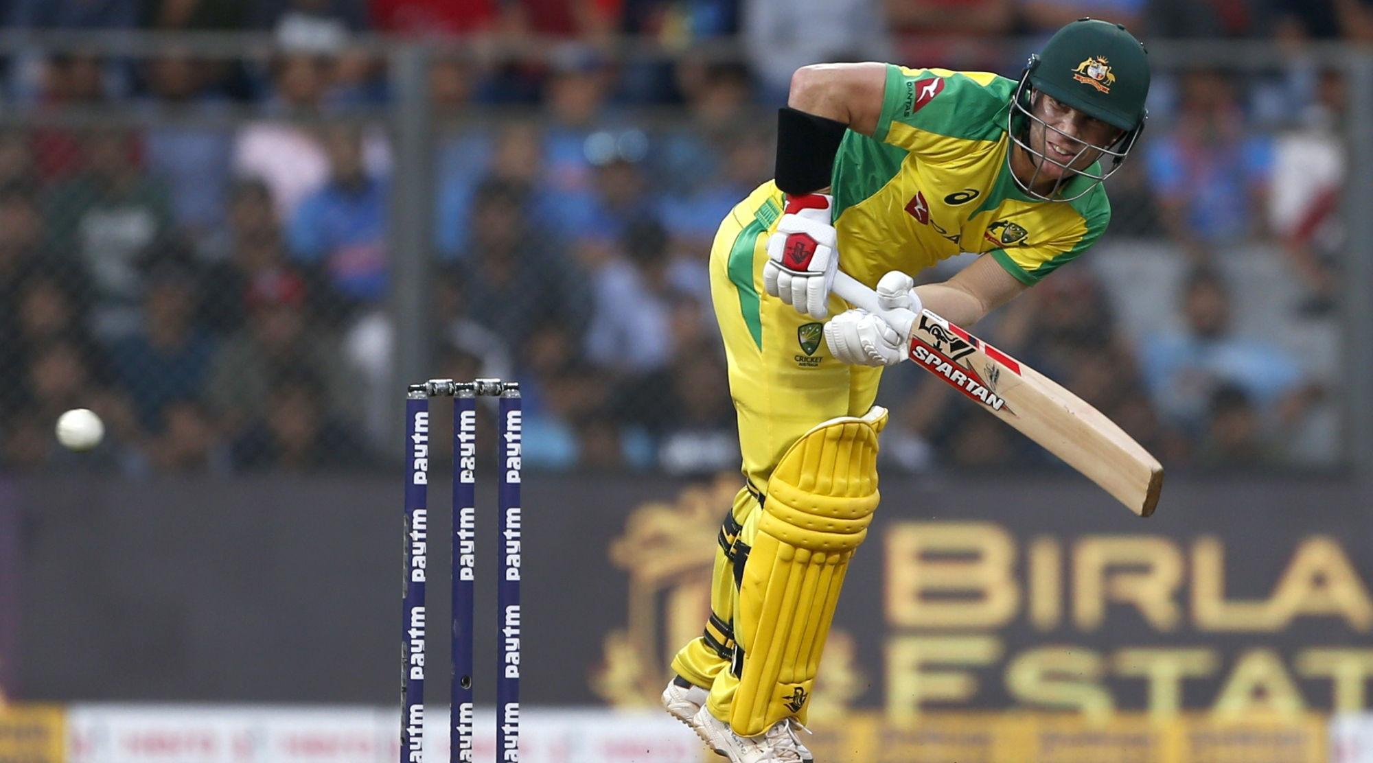 India vs Australia, 1st ODI 2020: David Warner Becomes Fastest Australian to Amass 5000 ODI Runs