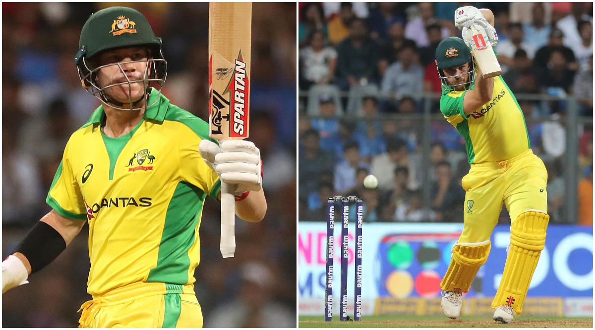 David Warner And Aaron Finch Score Fine Centuries During IND vs AUS 1st ODI 2020, Australian Pair Make Mockery of Famed Indian Bowling Line-up